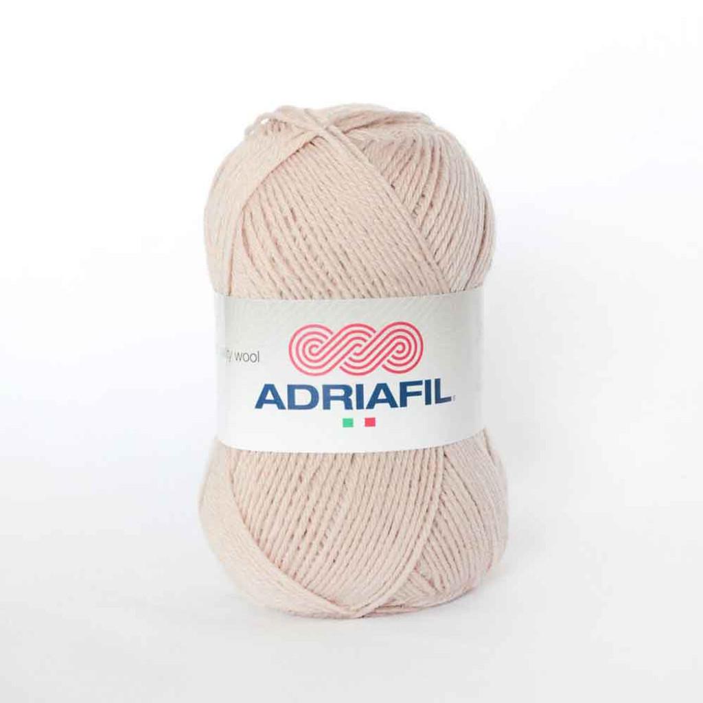 Adriafil Azzurra 3 Ply Knitting Yarn - 58 Beige