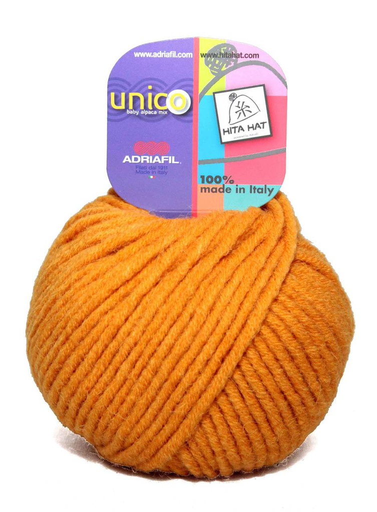 Adriafil Unico Chunky Yarn | Various Colours | 64 Yellow