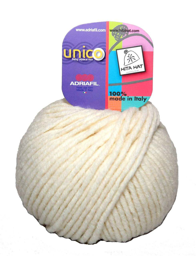 Adriafil Unico Chunky Yarn | Various Colours | 68 Cream