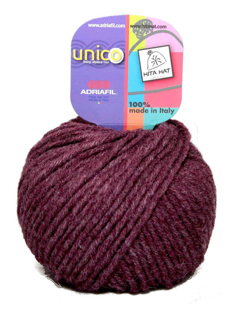 Adriafil Unico Chunky Yarn | Various Colours | 71 Plum
