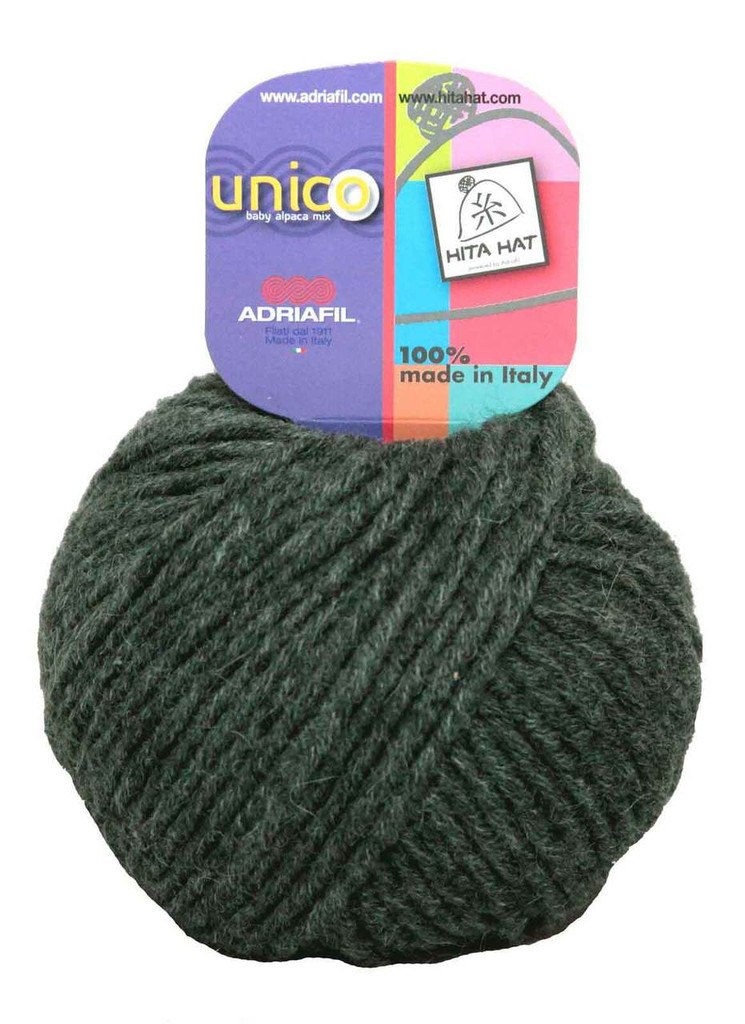 Adriafil Unico Chunky Yarn | Various Colours | 72 Green Forest