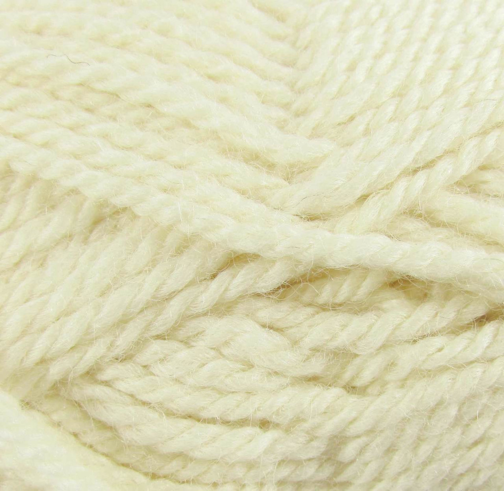 WYS Blue Faced Leicester Aran 50g | Various Shades - Snowdrop