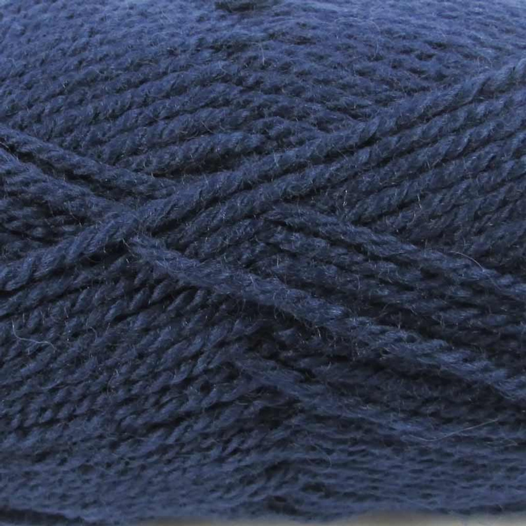 WYS Blue Faced Leicester Aran 50g | Various Shades - Blueberry