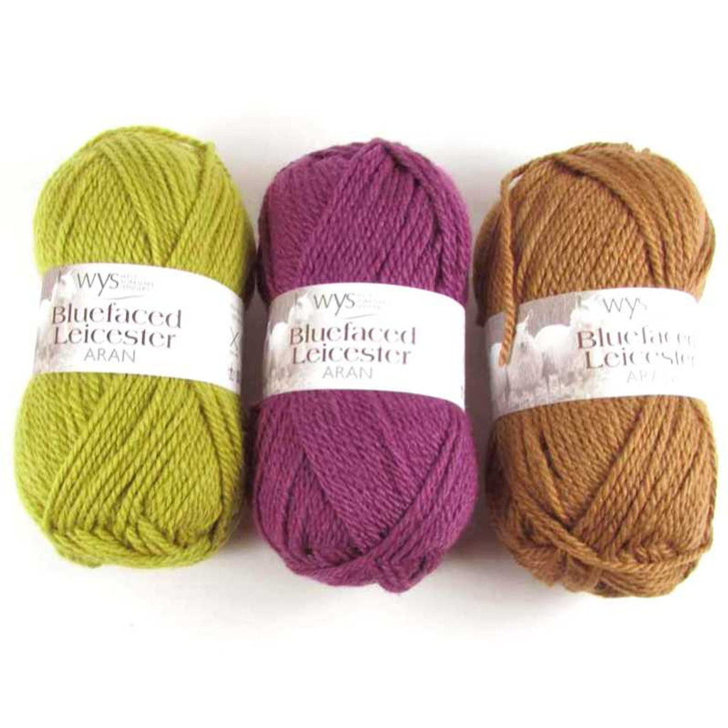 WYS Blue Faced Leicester Aran 50g | Various Shades - Main Image