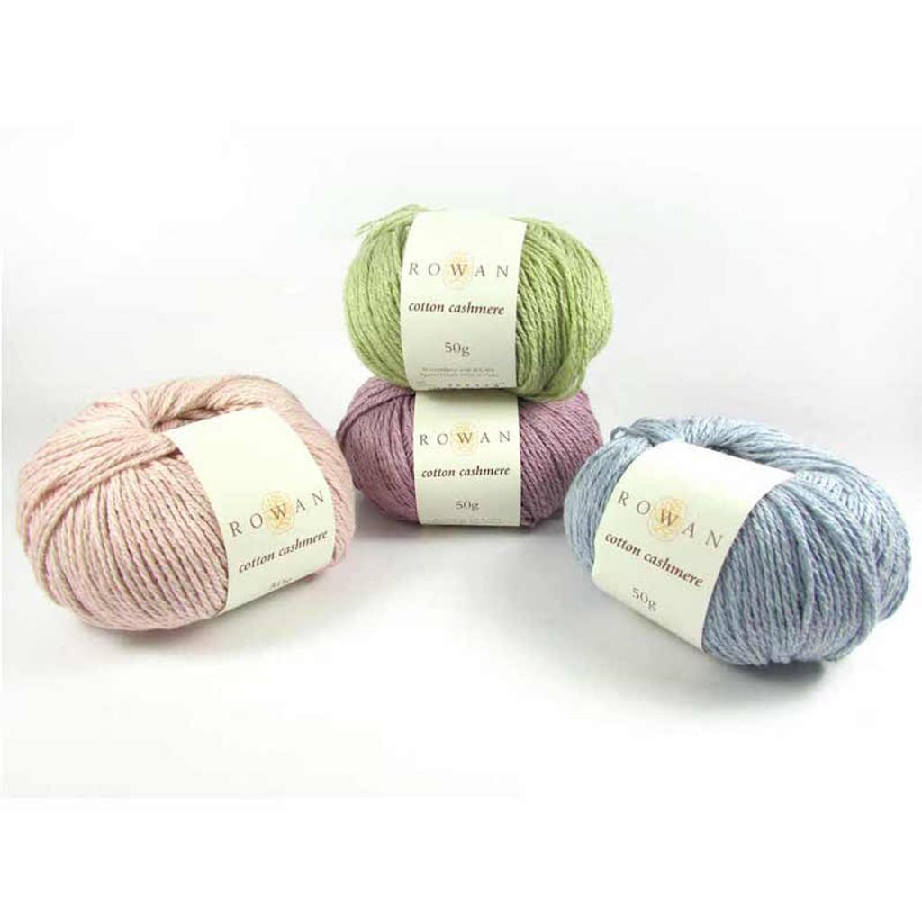 Rowan Cotton Cashmere DK Knitting Yarn, 50g Donuts | Various Shades  - Main Image