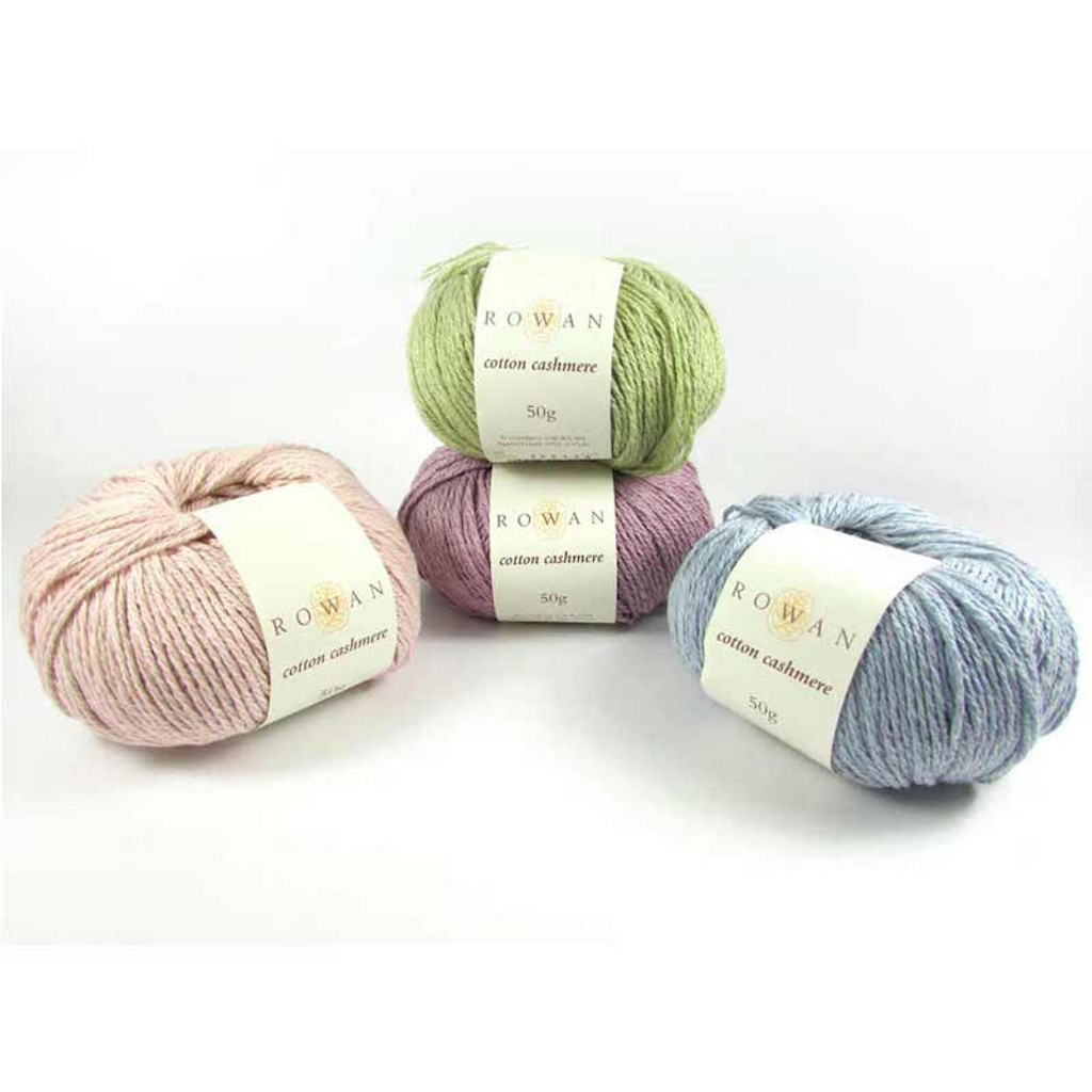Rowan Cotton Cashmere DK Knitting Yarn, 50g Donuts   Various Shades  - Main Image