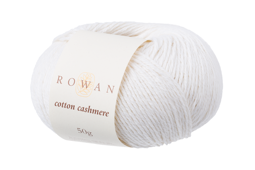 Rowan Cotton Cashmere DK Knitting Yarn, 50g Donuts | Various Shades  - 210 Paper