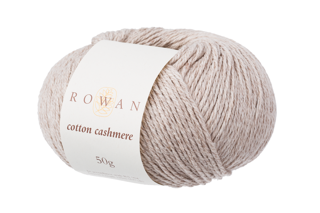 Rowan Cotton Cashmere DK Knitting Yarn, 50g Donuts | Various Shades  - 211 Linen