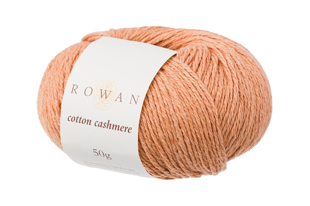 Rowan Cotton Cashmere DK Knitting Yarn, 50g Donuts | Various Shades  - 213 Golden Dunes