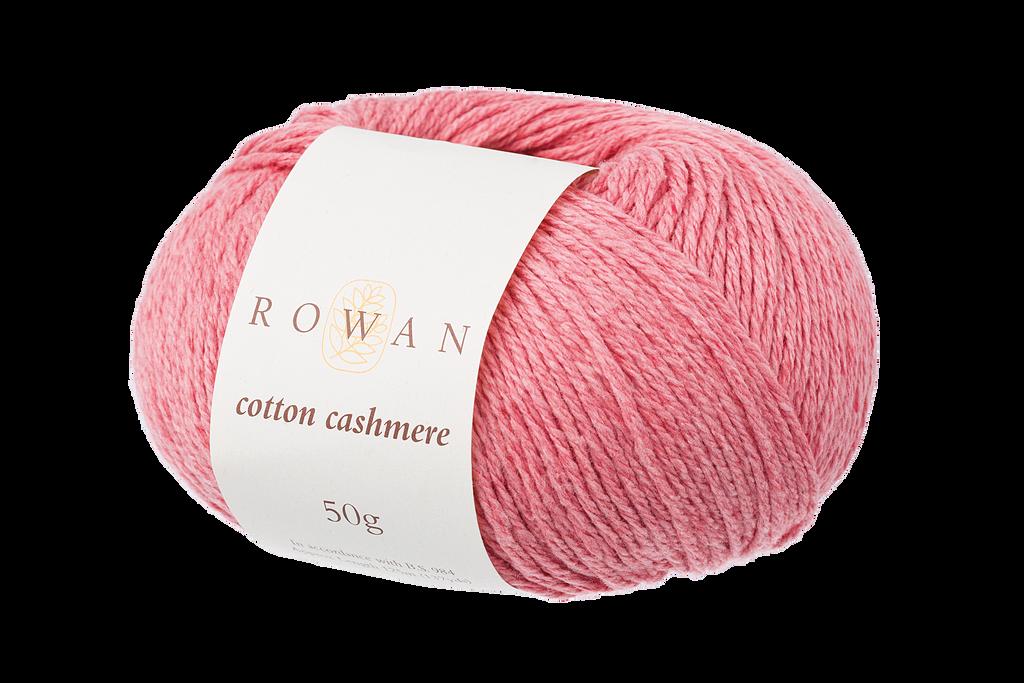 Rowan Cotton Cashmere DK Knitting Yarn, 50g Donuts | Various Shades  - 214 Coral Spice