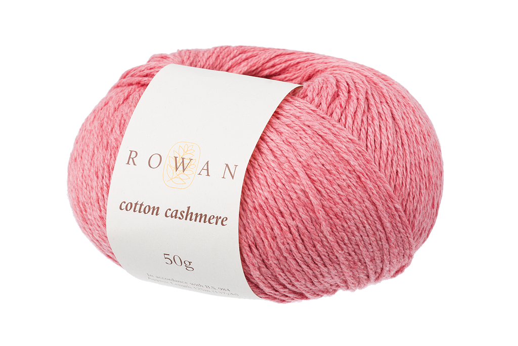 Rowan Cotton Cashmere DK Knitting Yarn, 50g Donuts | Various Shades  - 214 Coral Spice