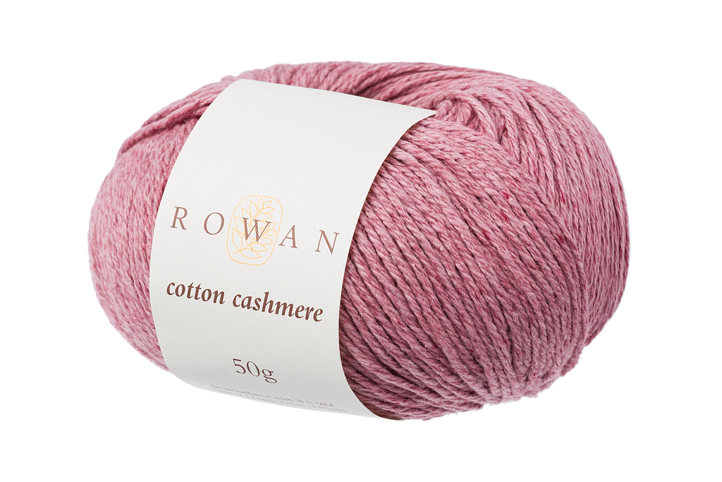 Rowan Cotton Cashmere DK Knitting Yarn, 50g Donuts | Various Shades  - 215 Cinnabar