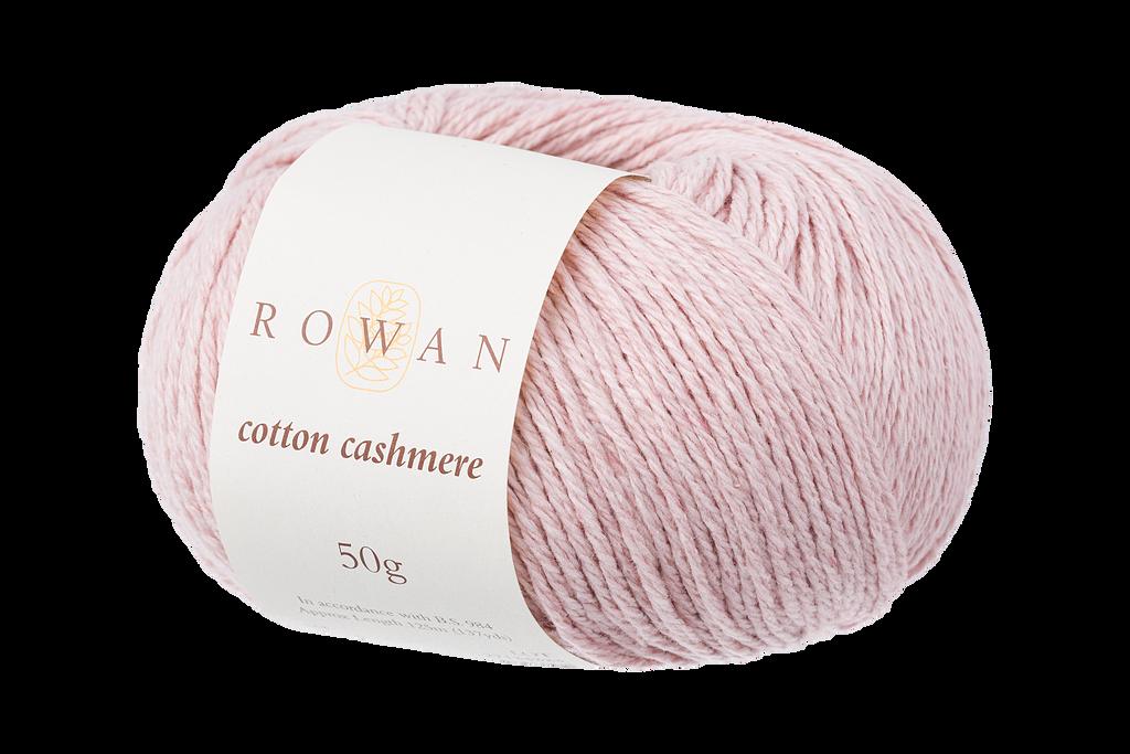 Rowan Cotton Cashmere DK Knitting Yarn, 50g Donuts | Various Shades  - 216 Pearly Pink