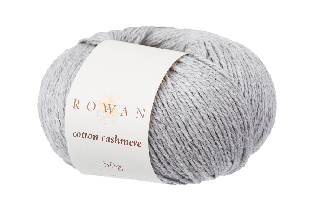Rowan Cotton Cashmere DK Knitting Yarn, 50g Donuts | Various Shades  - 224 Silver Lining