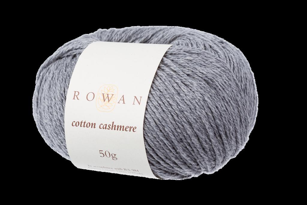 Rowan Cotton Cashmere DK Knitting Yarn, 50g Donuts | Various Shades  - 225 Stormy Sky