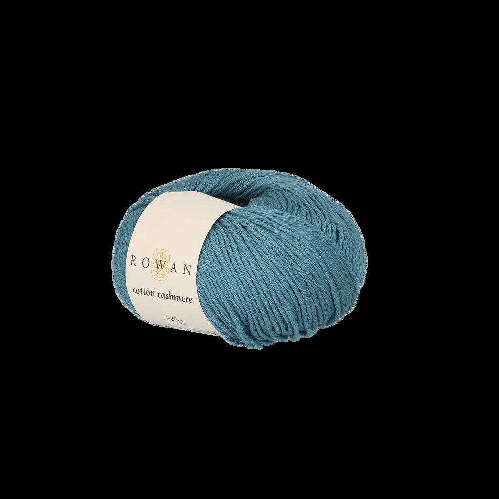 Rowan Cotton Cashmere DK Knitting Yarn, 50g Donuts | Various Shades  - 230 Ocean