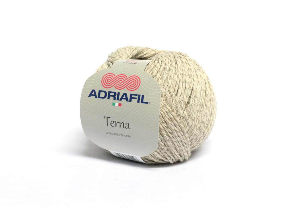 Adriafil Terna Cotton Rich yarn -50g balls | various shades - 60 Cream and Biscuits