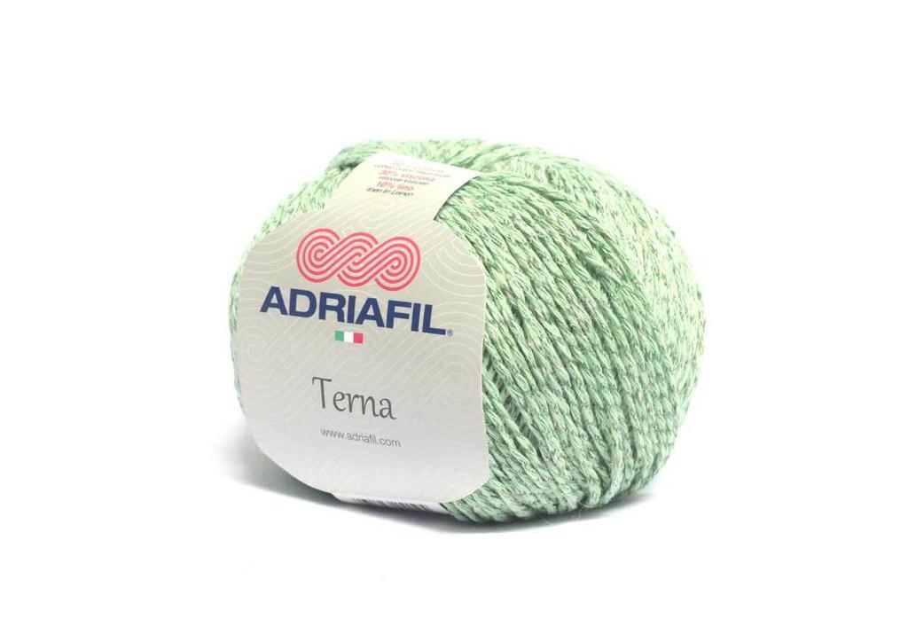 Adriafil Terna Cotton Rich yarn -50g balls | various shades - 61 Apple Green