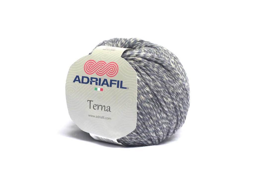 Adriafil Terna  Cotton Rich yarn -50g balls | various shades - 62  Graphite Grey