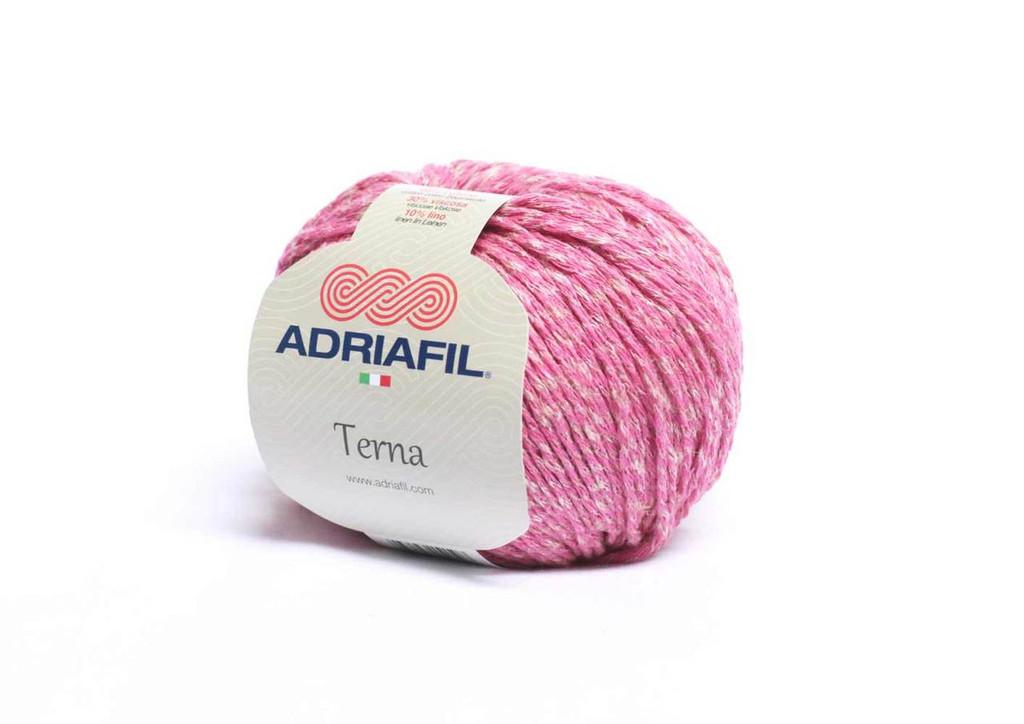 Adriafil Terna Cotton Rich yarn -50g balls | various shades - 63 Cherry Blossom