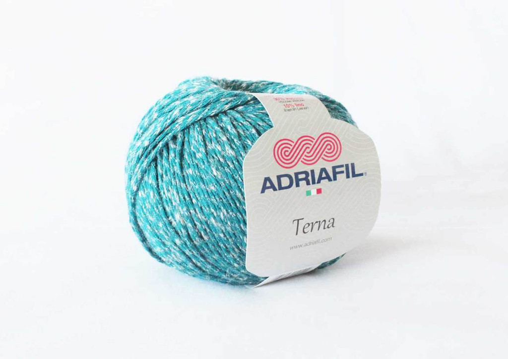 Adriafil Terna Cotton Rich yarn -50g balls | various shades - 65 Deep Turquoise