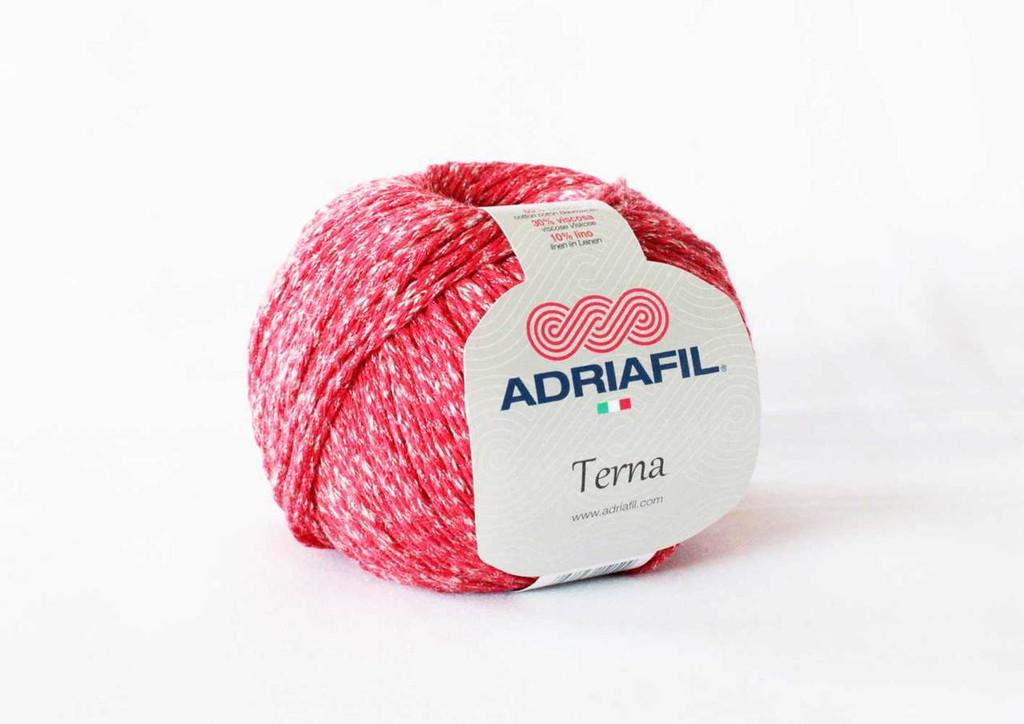 Adriafil Terna Cotton Rich yarn -50g balls | various shades - 66 Red Cardinal