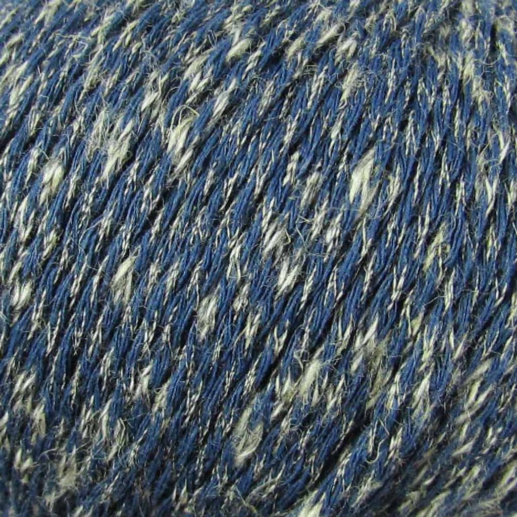 Adriafil Terna Cotton Rich yarn -50g balls | various shades - 67 Denim Blue close up