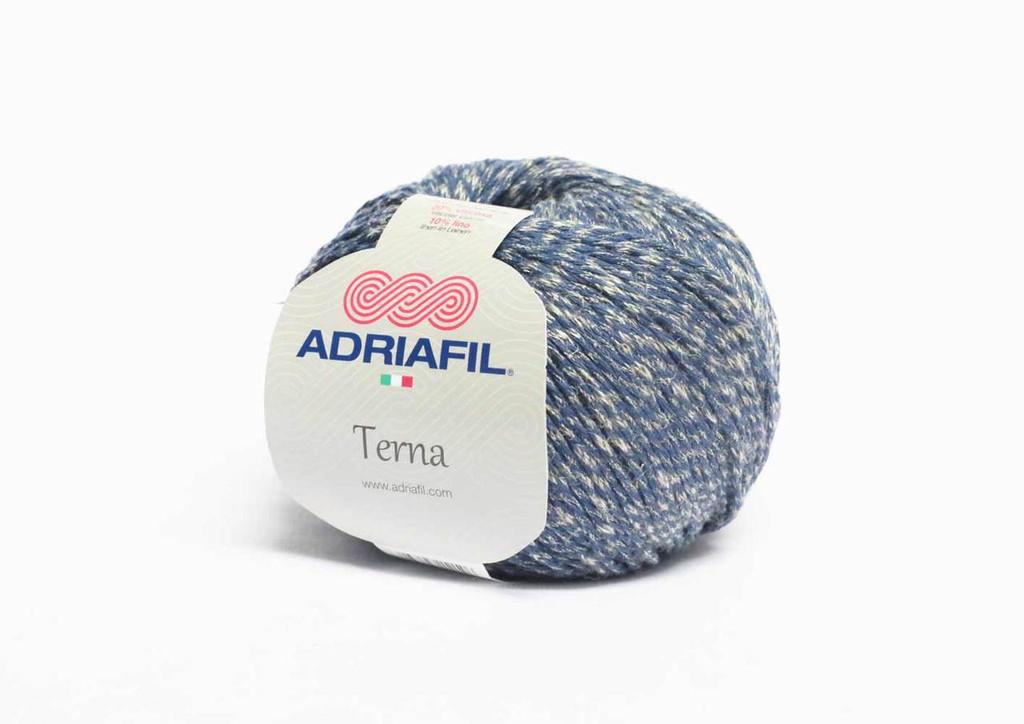Adriafil Terna Cotton Rich yarn -50g balls | various shades - 67 Denim Blue