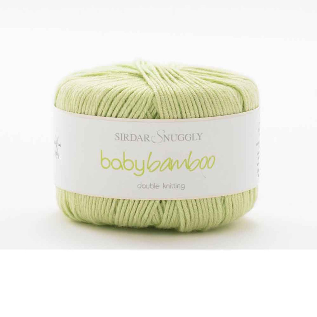 Sirdar Snuggly Baby Bamboo DK Knitting Yarn | 133 Willow