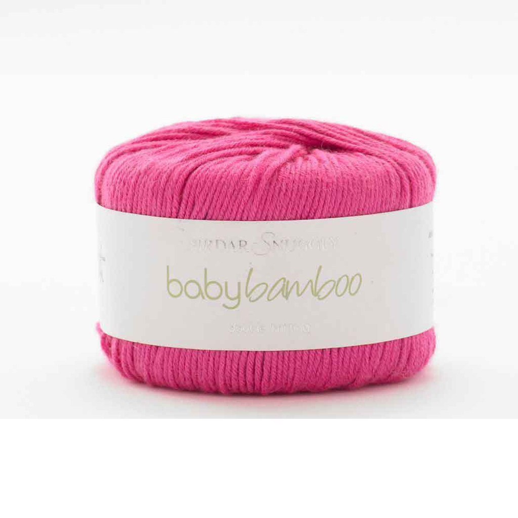 Sirdar Snuggly Baby Bamboo DK Knitting Yarn | 158 Rinky Dink Pink