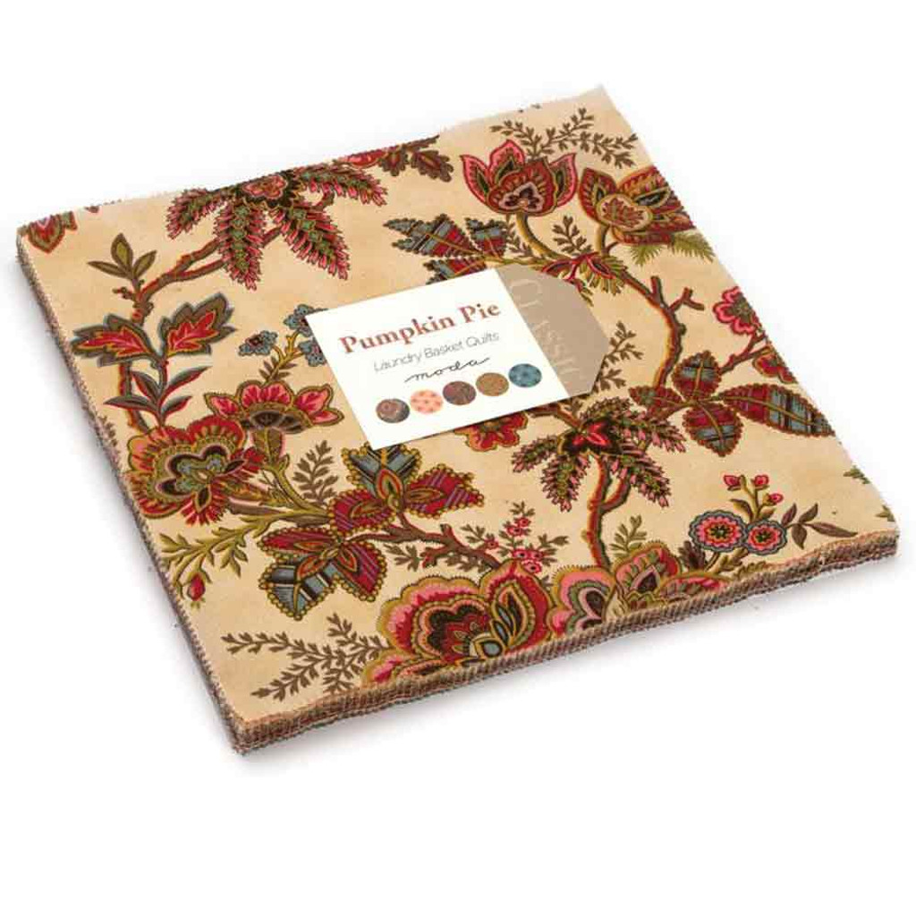 Pumpkin Pie | Laundry Basket Quilts | Moda Fabrics | Layer Cake - Main Image