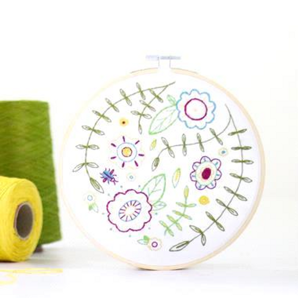 Hawthorn Handmade   Contemporary Embroidery Kit   Various Designs