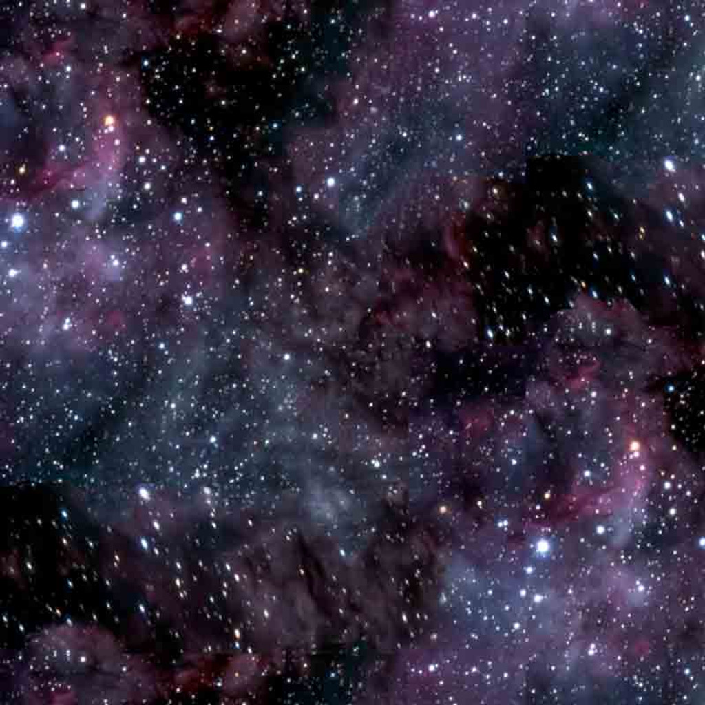 Cosmic Space Planets & Stars 100% Cotton Fabric | Blank Quilting | BL8455-99 Starry Sky
