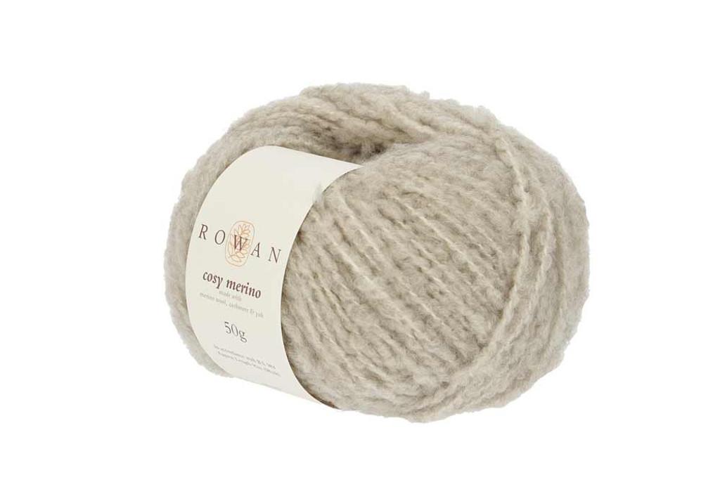 Rowan Cosy Merino Chunky Yarn in 50g balls, Shades - 001 Macaroon