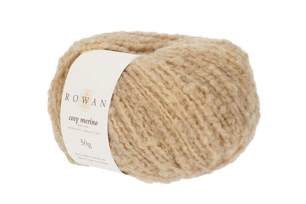 Rowan Cosy Merino Chunky Yarn in 50g balls, Shades - 002 Caramel