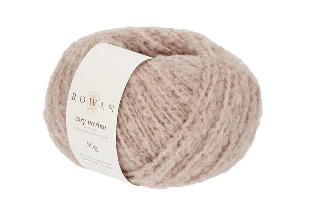 Rowan Cosy Merino Chunky Yarn in 50g balls, Shades - 003 Mauve Mist