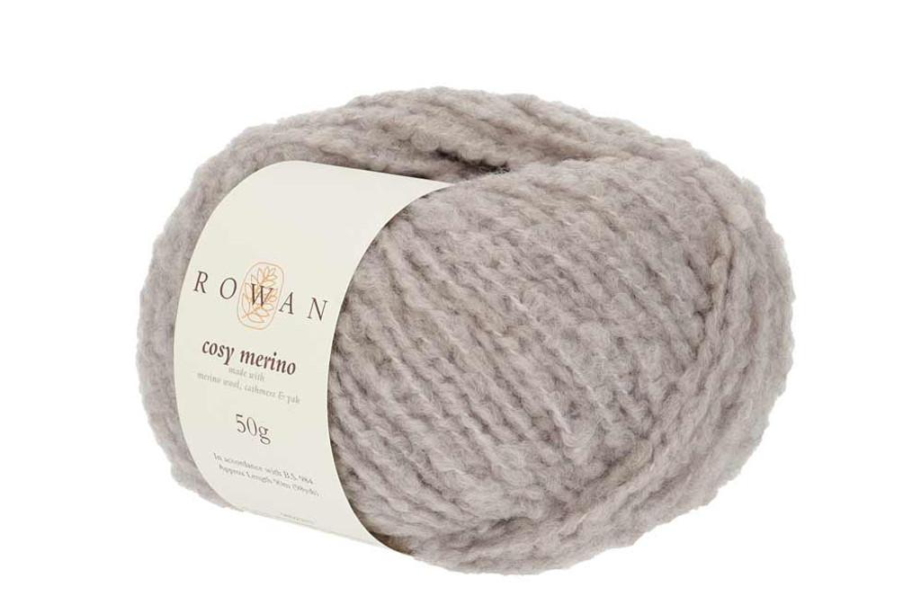 Rowan Cosy Merino Chunky Yarn in 50g balls, Shades - 004 Cloud