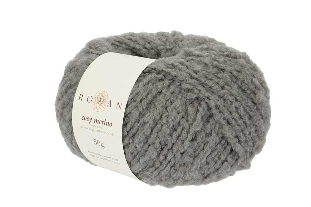 Rowan Cosy Merino Chunky Yarn in 50g balls, Shades - 006 Charcoal