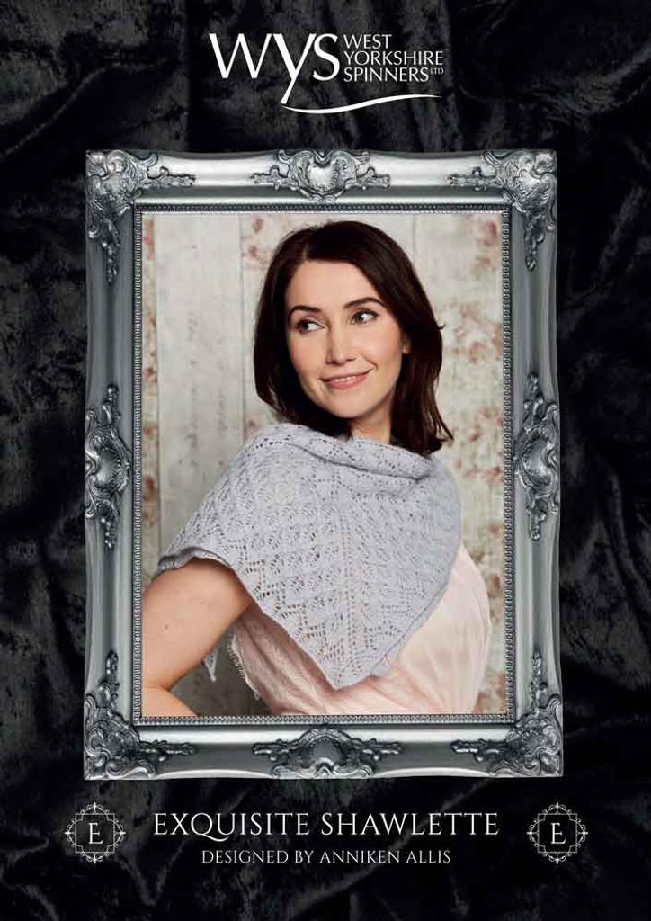 Exquisite Shawlette by Anniken Allis | Free downloadable pattern