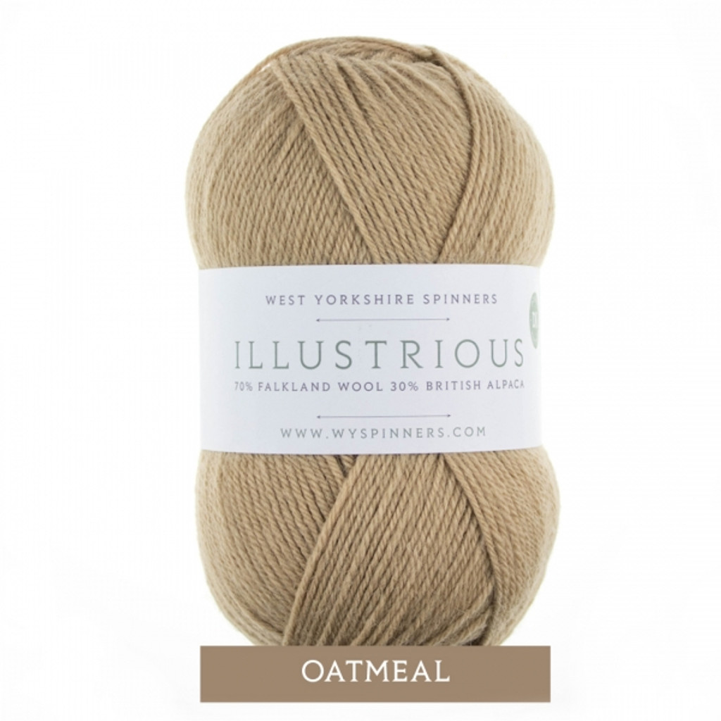 WYS Illustrious DK Knitting Yarn, 100g Balls | 237 Oatmeal