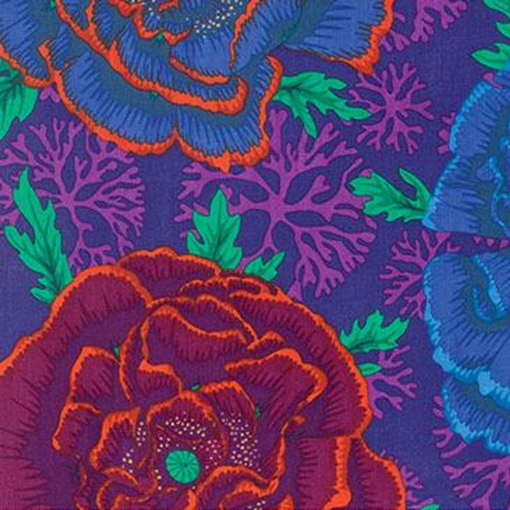 Purple Henley | Spring 2016 | Kaffe Fassett Fabrics