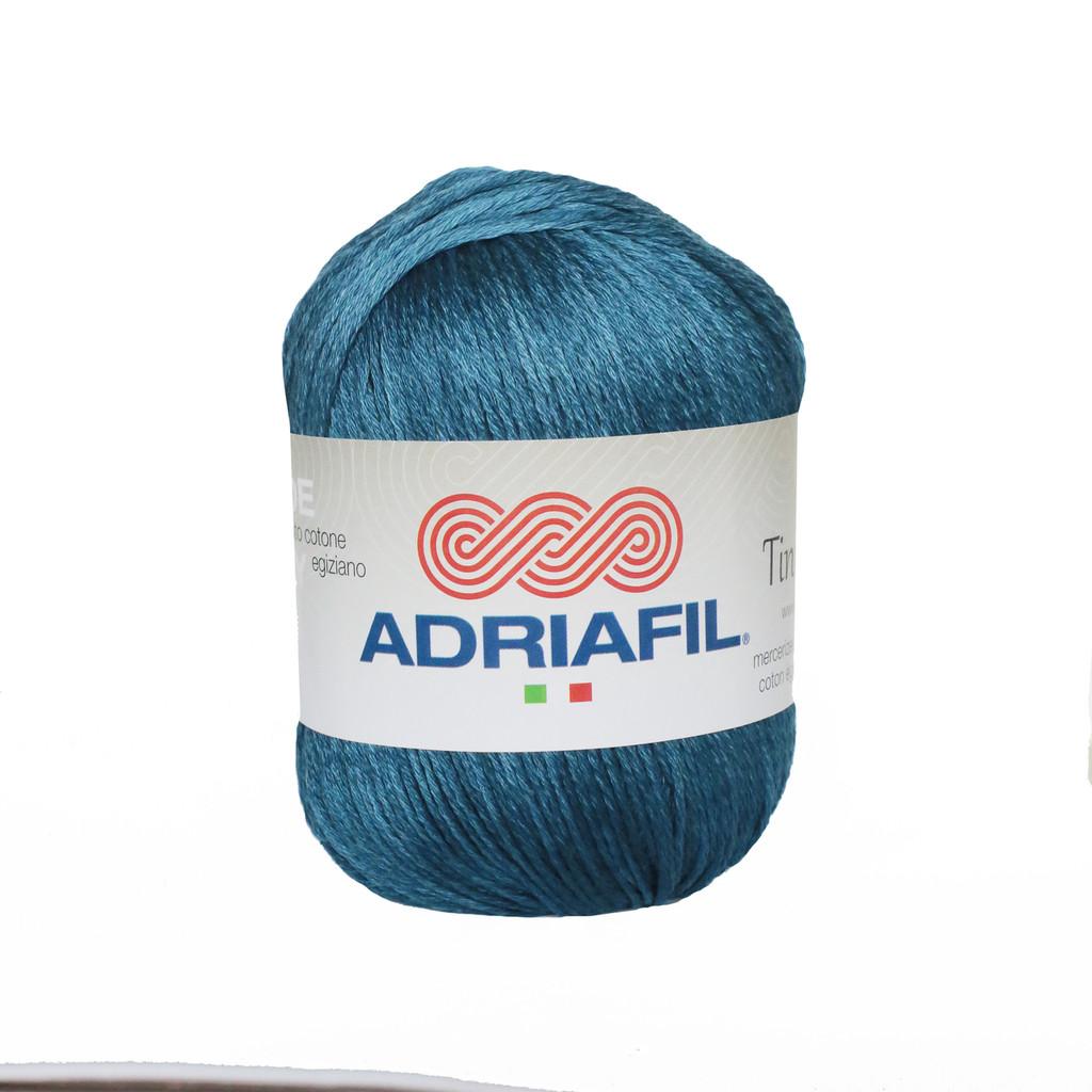 Tintarella Dk Cotton yarn 50g balls   various shades   Adriafil  - 60 Deep Blue