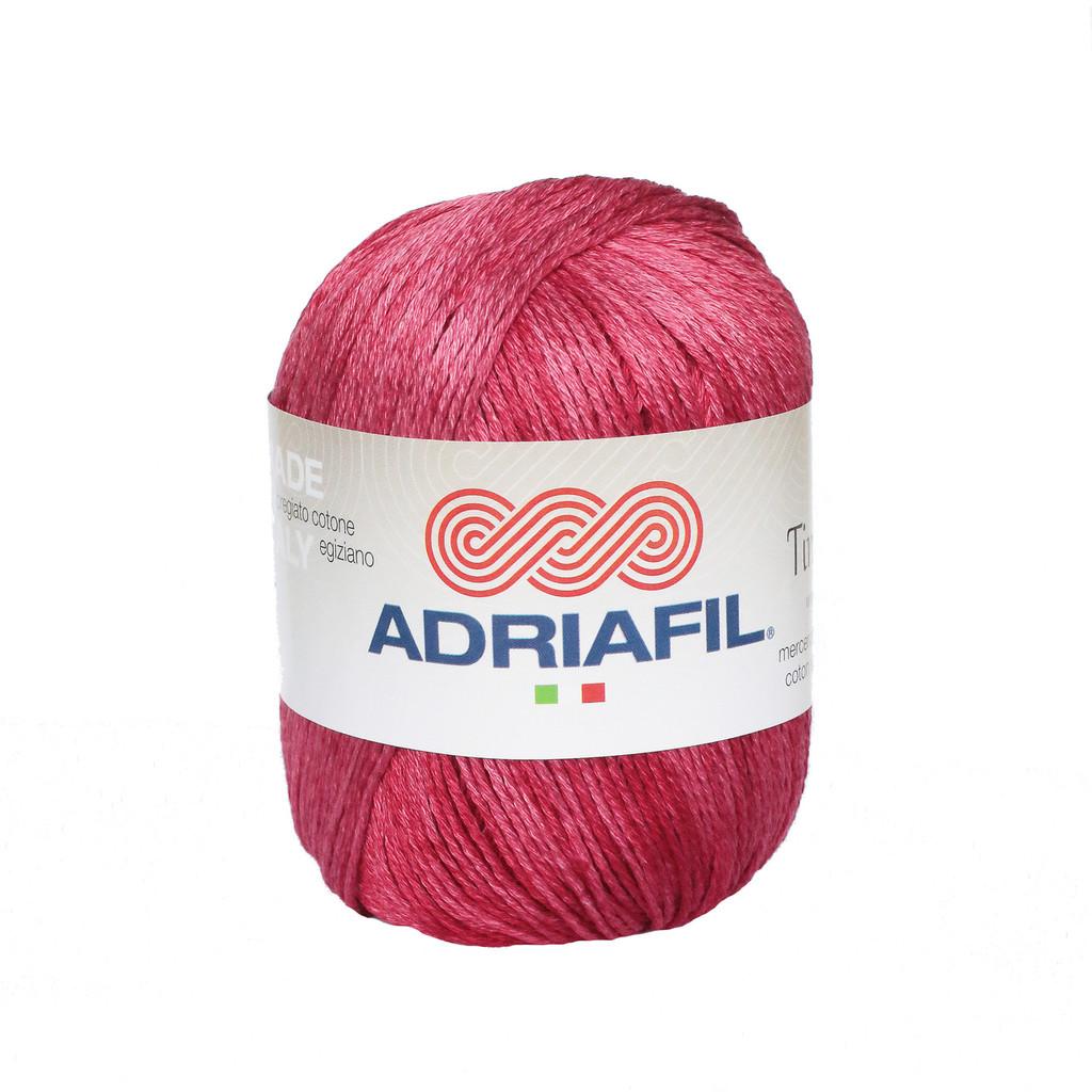 Tintarella Dk Cotton yarn 50g balls | various shades | Adriafil - 62 Really Rich Red