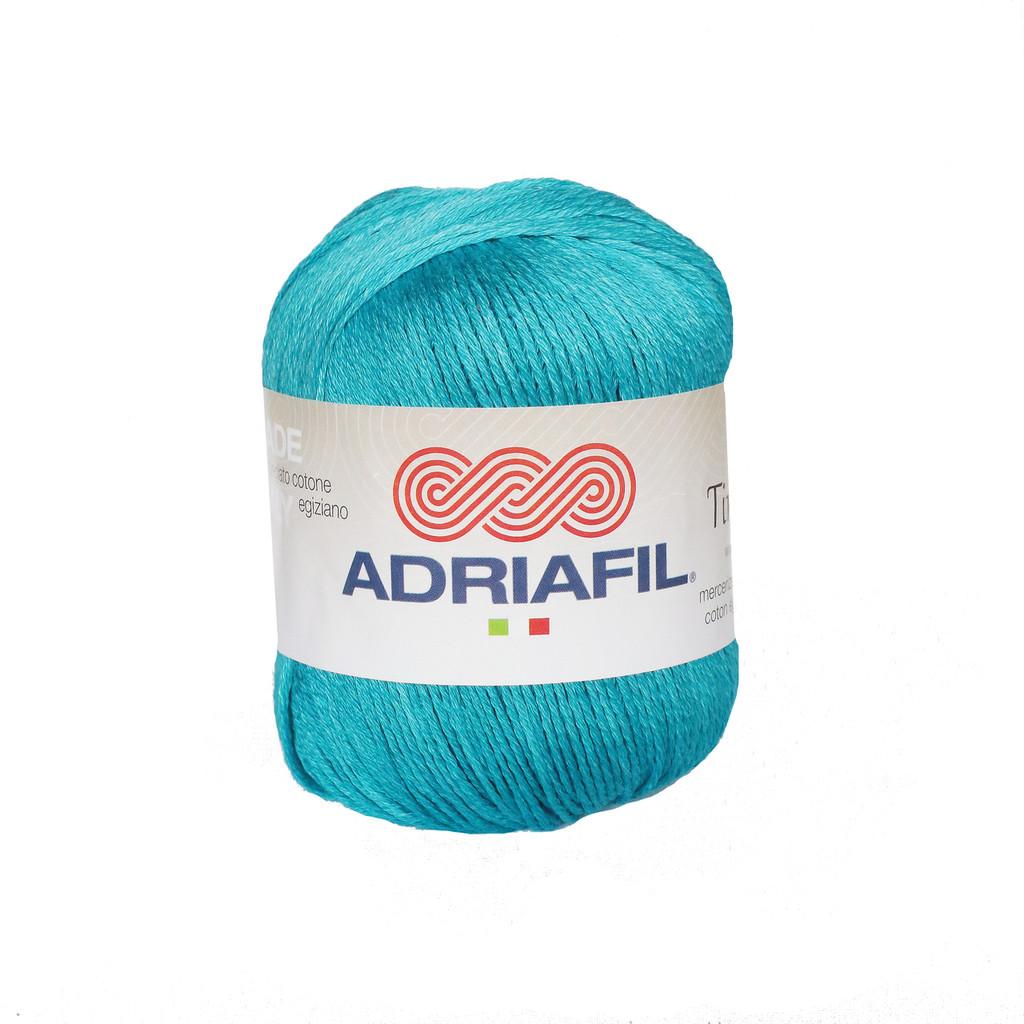 Tintarella Dk Cotton yarn 50g balls   various shades   Adriafil - 63 Turquoise Seas