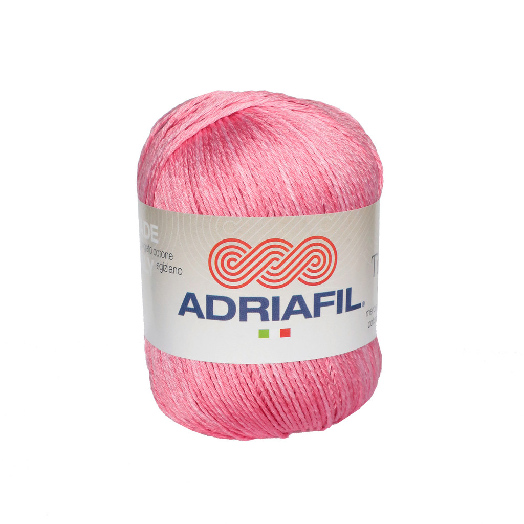 Tintarella Dk Cotton yarn 50g balls | various shades | Adriafil - 64 Carnation
