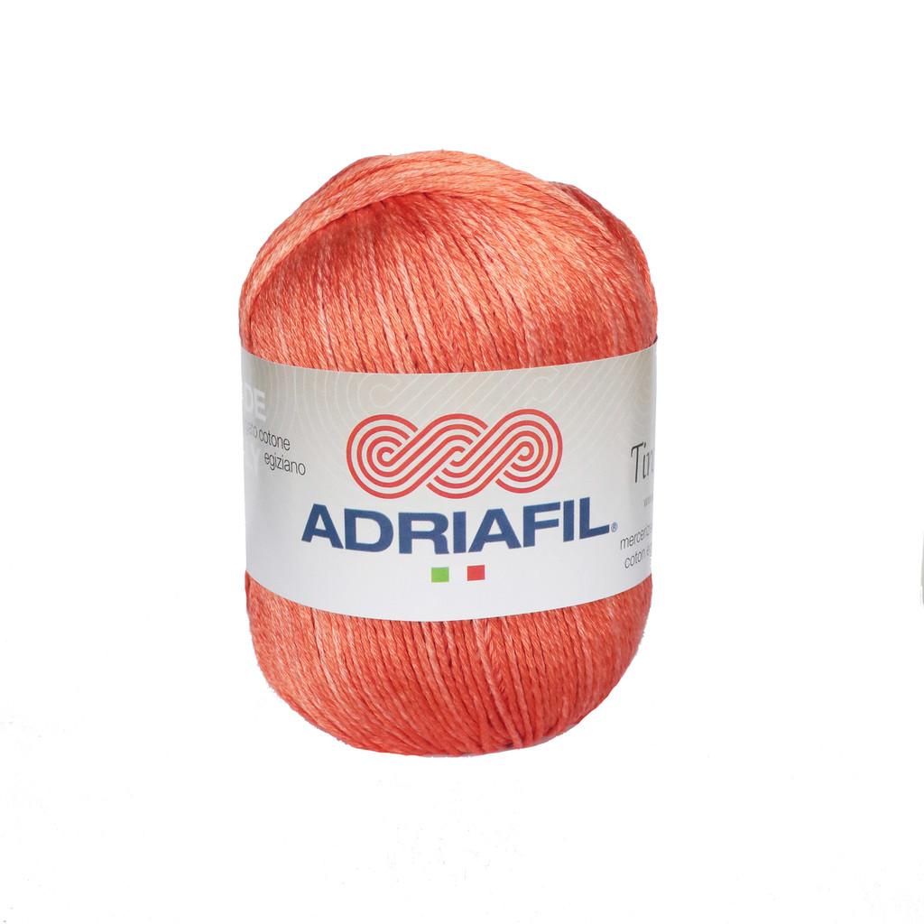 Tintarella Dk Cotton yarn 50g balls   various shades   Adriafil - 67 Peaches