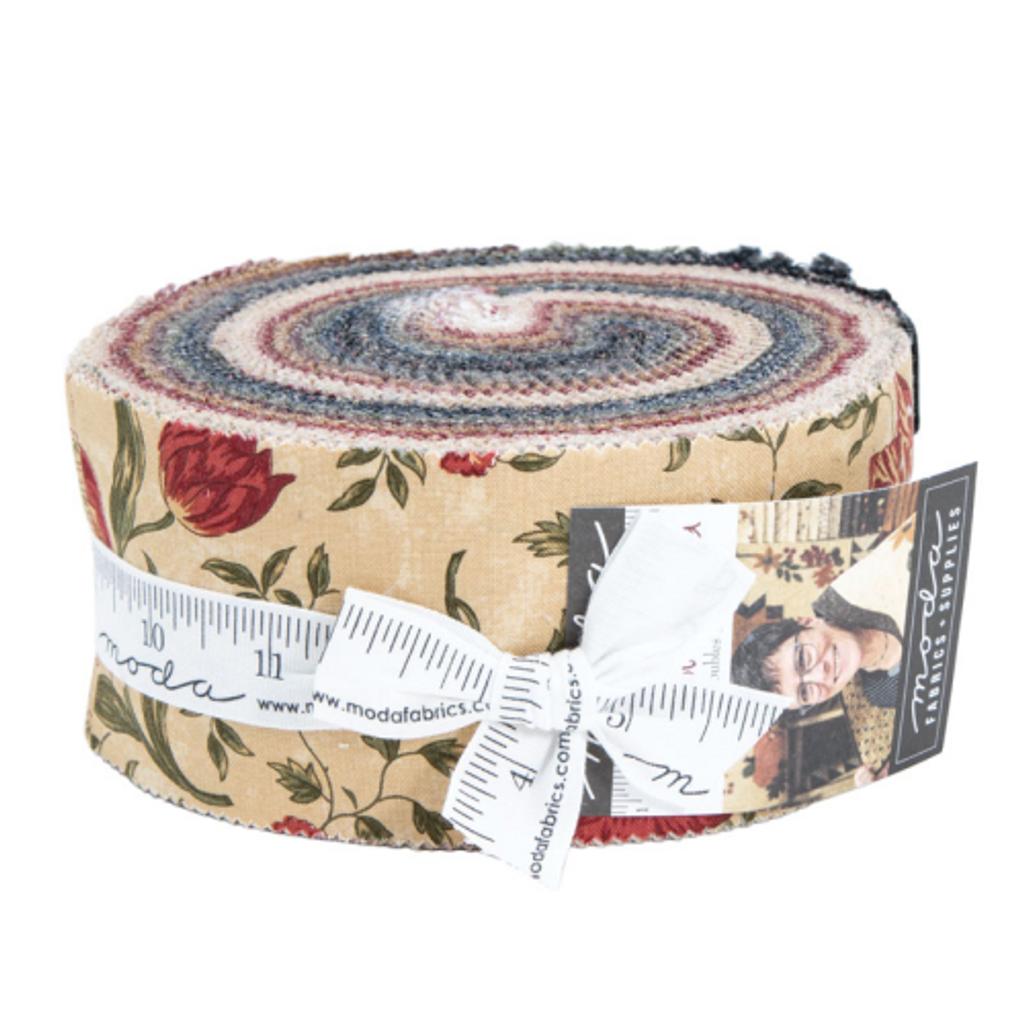 On Meadowlark Pond | Kansas Troubles Quilters | Moda Fabrics | Jelly Roll - Main Image