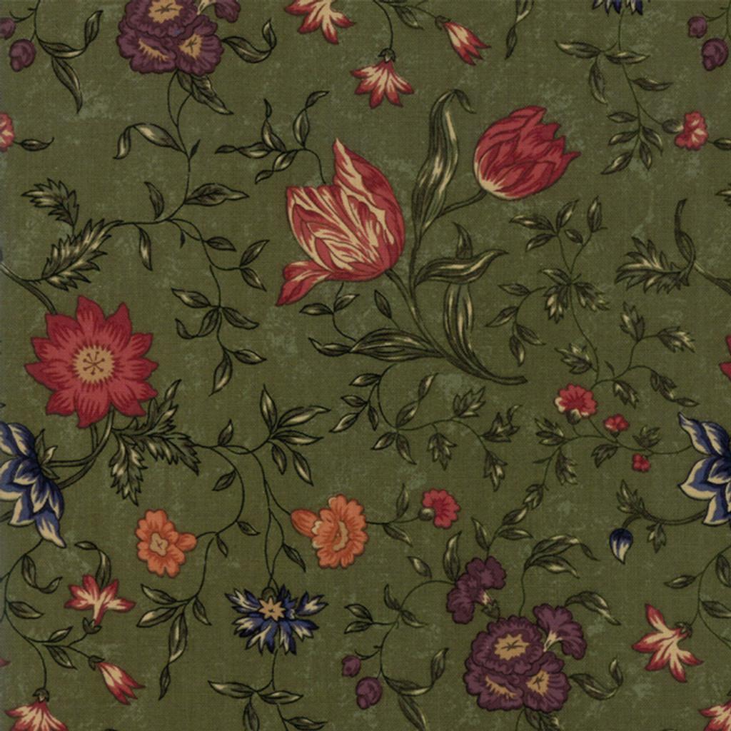 On Meadowlark Pond | Kansas Troubles Quilters | Moda Fabrics | 9590-15