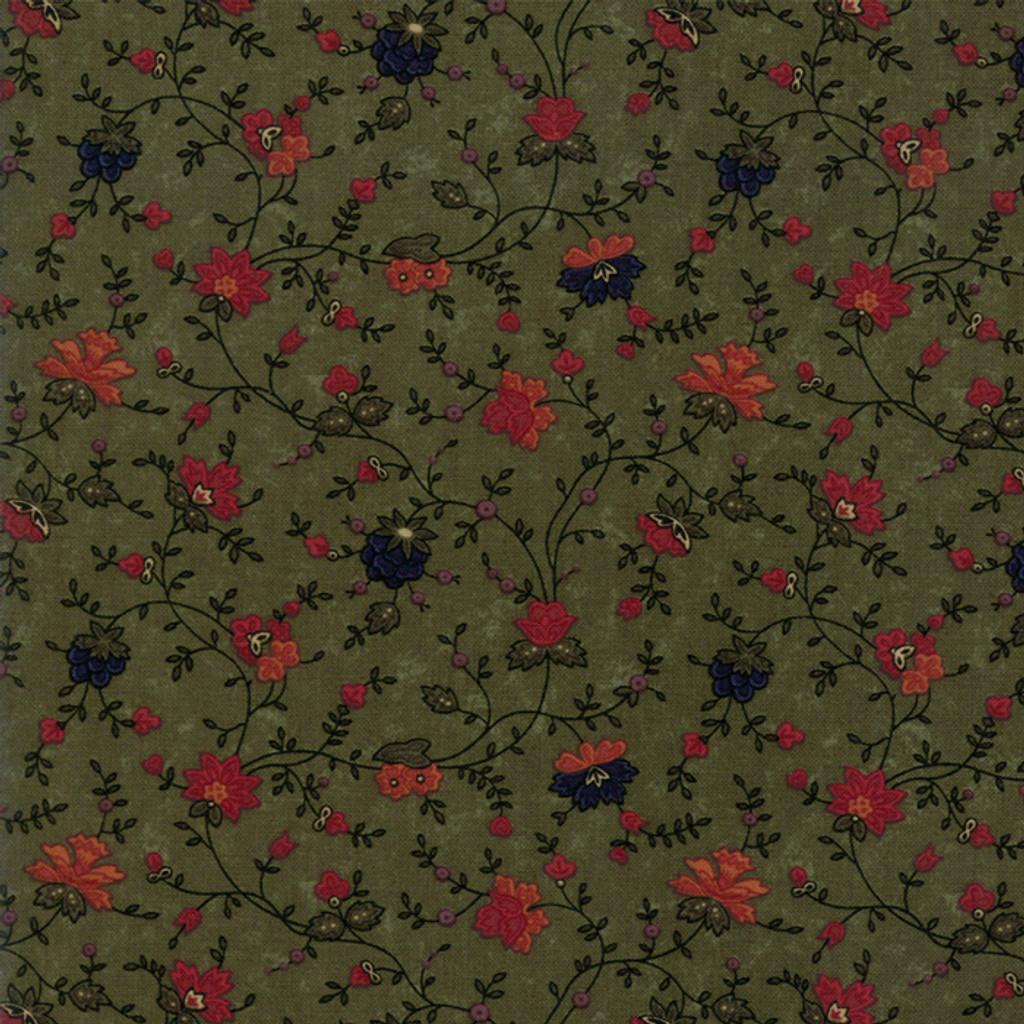 On Meadowlark Pond | Kansas Troubles Quilters | Moda Fabrics | 9591-15