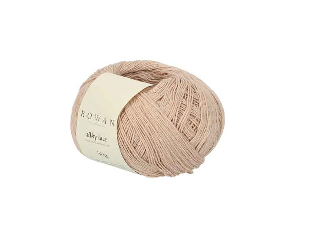 Rowan Silky Lace Weight Knitting Yarn, 50g Donuts | 0004 Rubelite